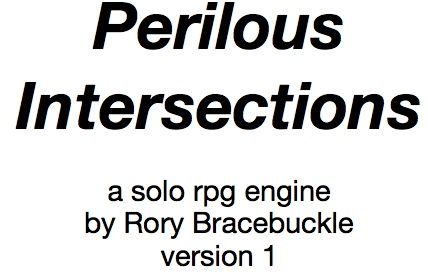 "A solo RPG engine by Roryb Bracebuckle that sets ""dials"" to create"