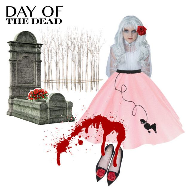 """Day of the dead 1031A"" by owen-996 ❤ liked on Polyvore featuring art and Dayofthedead"