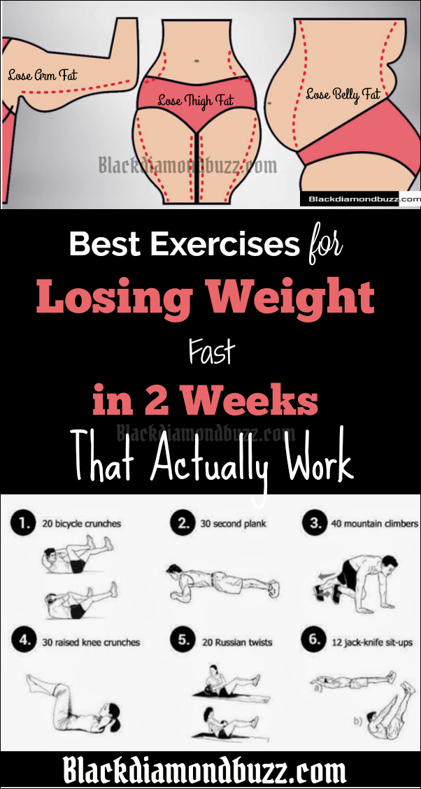 Best Exercises for Losing Weight Fast in 2 Weeks That ...