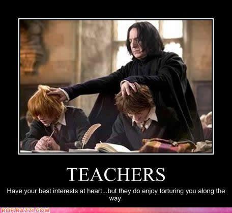 Teachers Cheezburger Harry Potter Facts Snape Harry Potter Harry Potter Cast