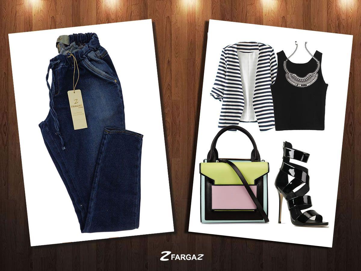 Combine Calça Jogger Fargaz com os itens que separamos pra você! :*