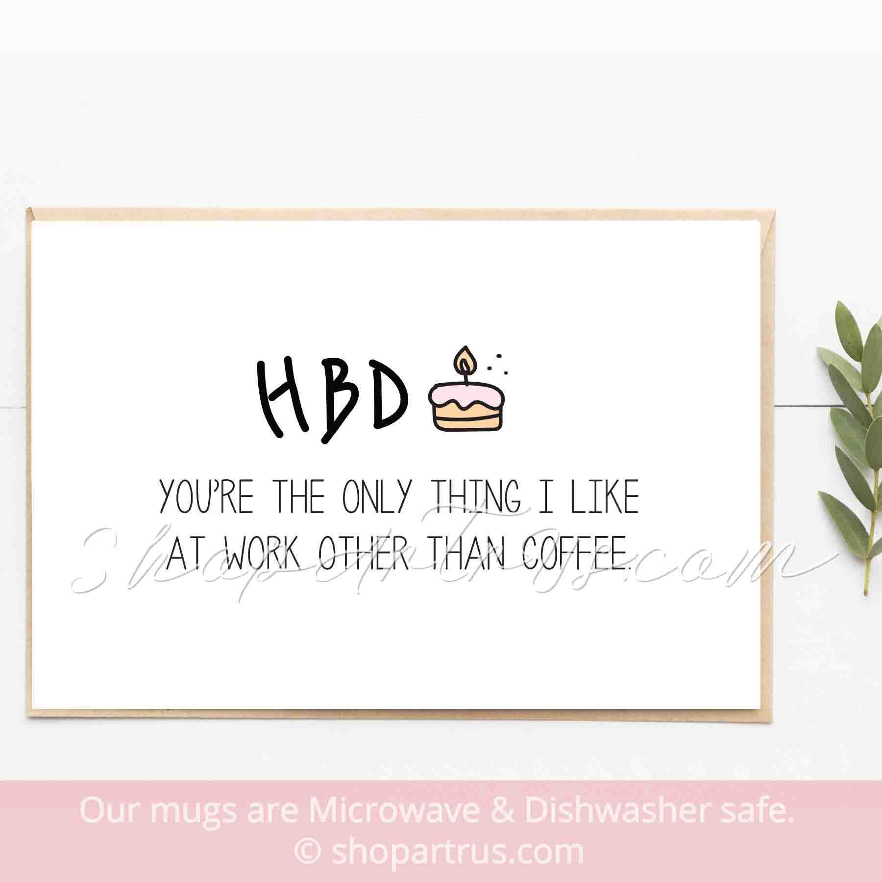 Coworker Birthday Card Funny Birthday Card Snarky Birthday Card Happy Birthday To My Favorite Coworker Colleague Birthday Card Gc347 Birthday Card Sayings Coworkers Birthday Happy Birthday Coworker