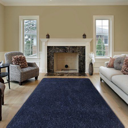 Sultansville Colorville Collection High-Pile Soft Shag Area Rug
