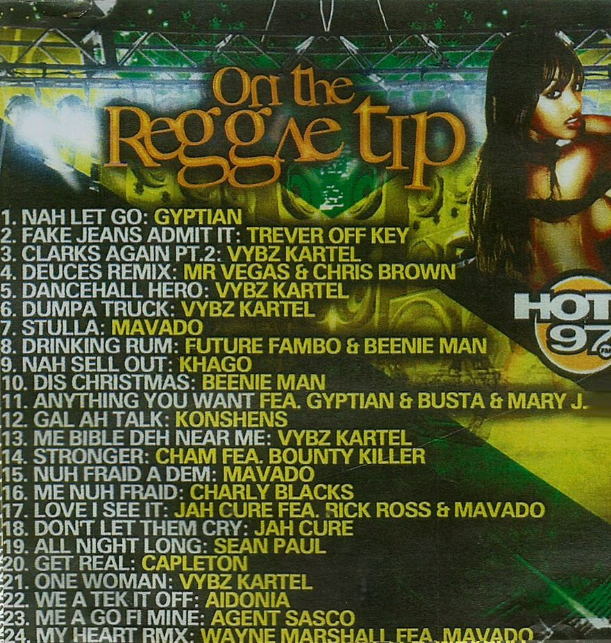 "Hot 97 ""On The Reggae Tip"" for $3.99 #onselz"
