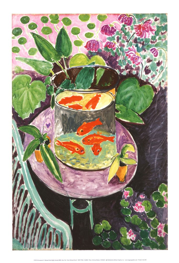 Goldfish | Henri matisse, Pinturas y Ilustraciones