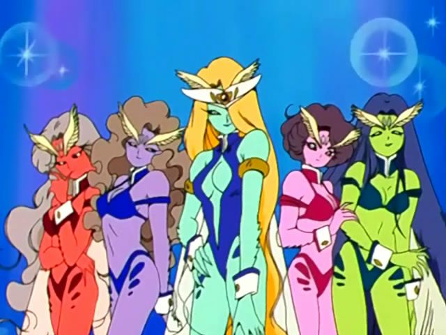 Doom Gloom Girls Sailor Moon Villains Sailor Moon Background Sailor Moon Screencaps