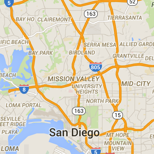 Buy Nothing Groups in San Diego County This google map shows the