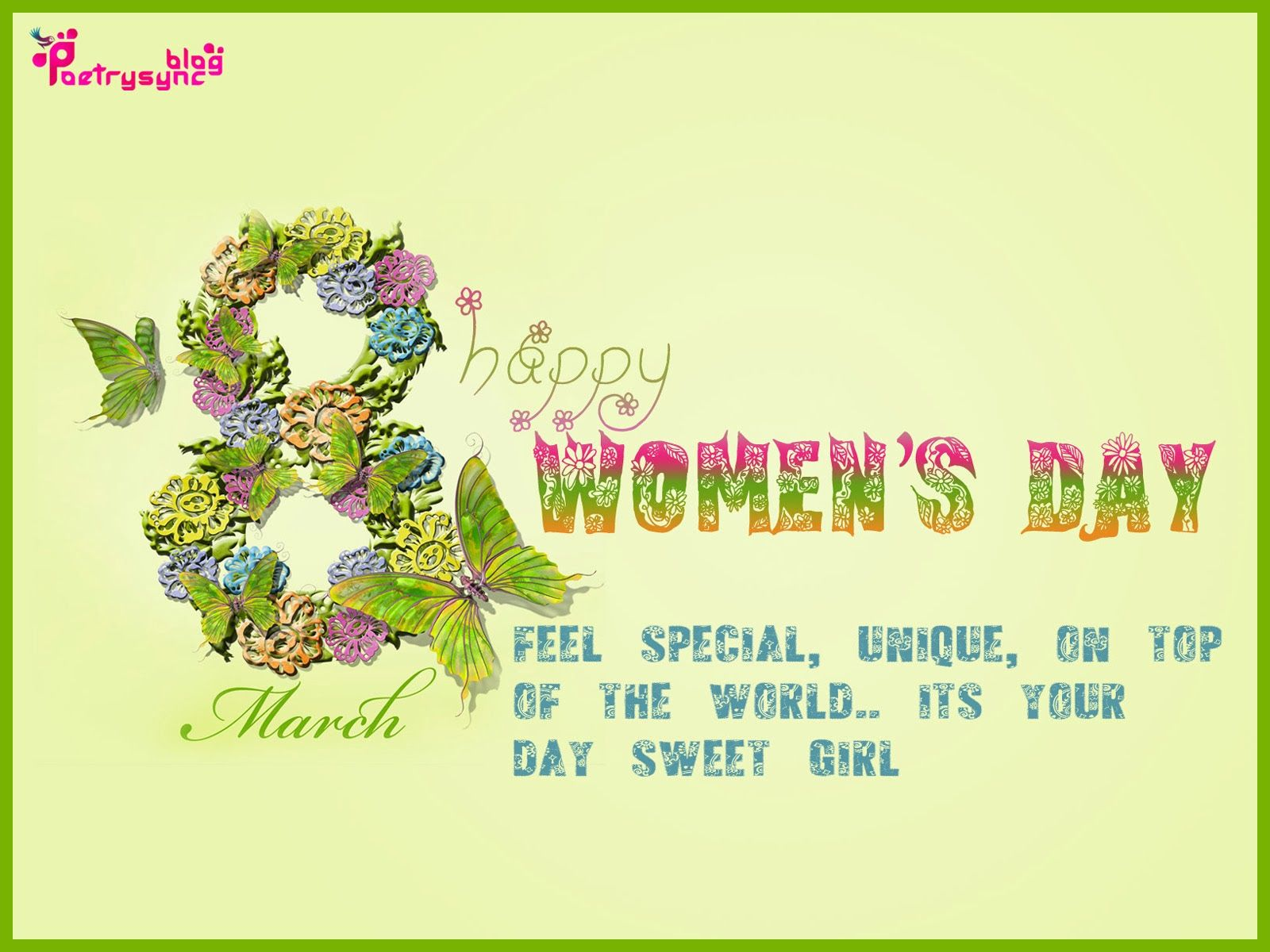 Perfect Poetry: International Womenu0027s Day Wishes SMS With Greetings Pictures ECards