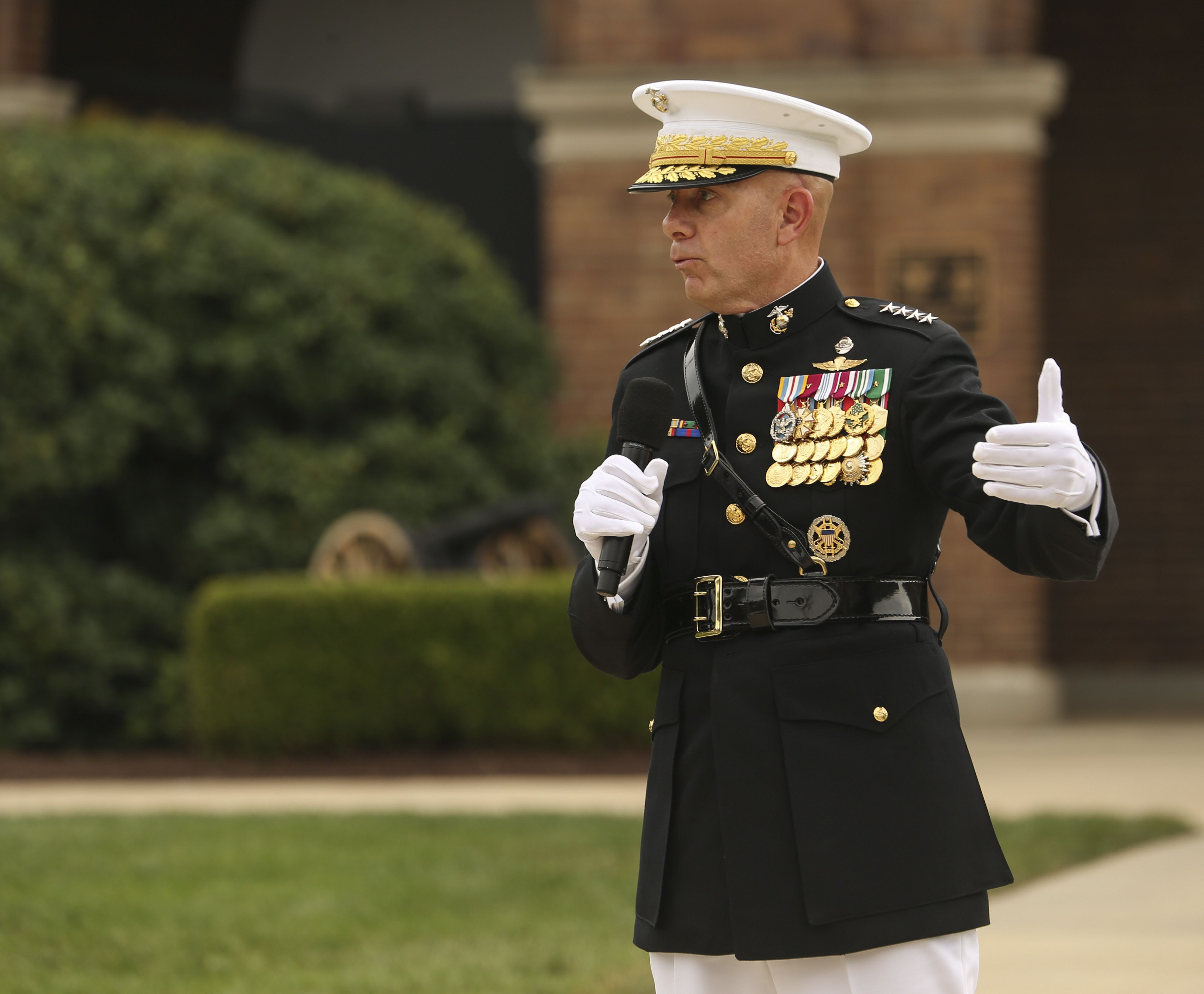 How the new Marine commandant plans to lead in the social