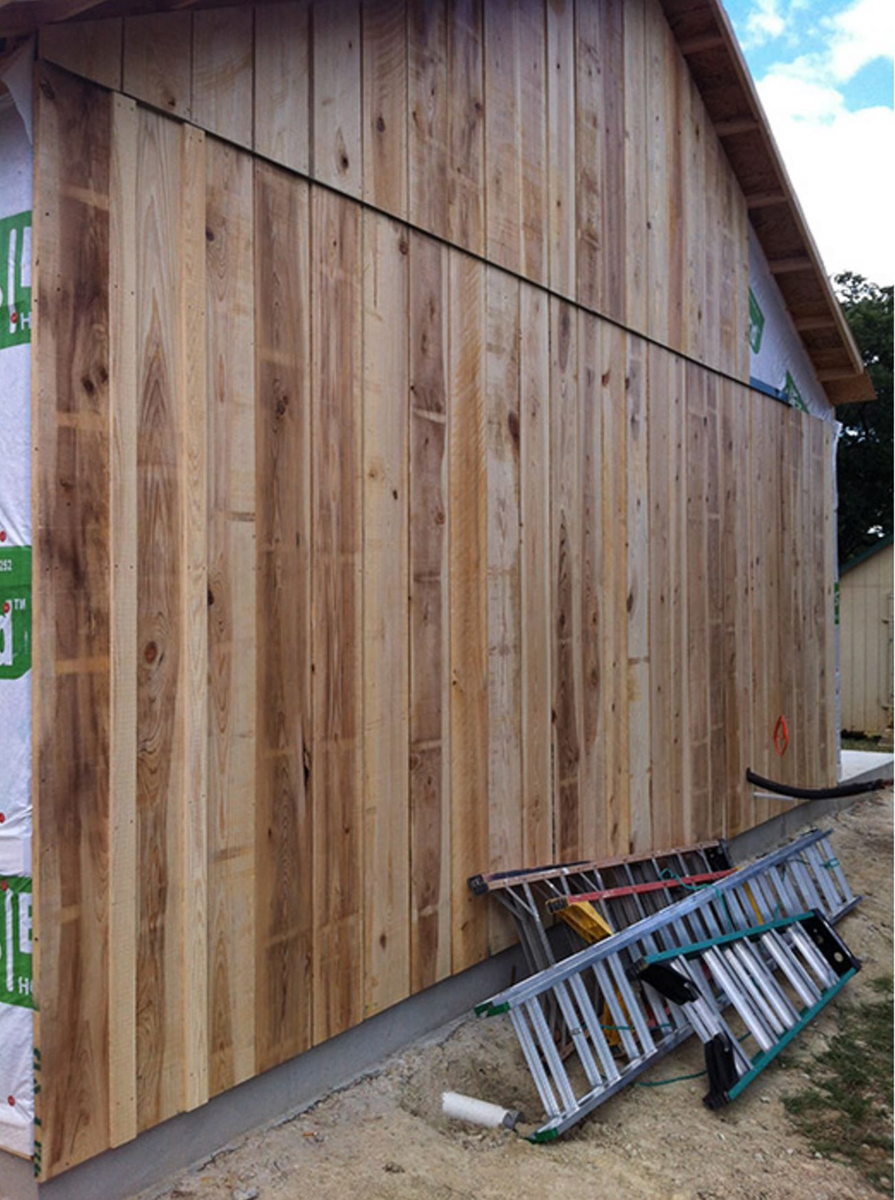 Cypress No 2 Grade Board And Batten Siding Wood Siding Siding Styles Barn Siding