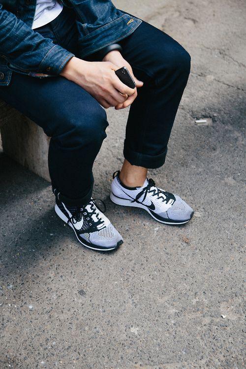 Nike Free Run 2 Costume Blanc Bleu Gris