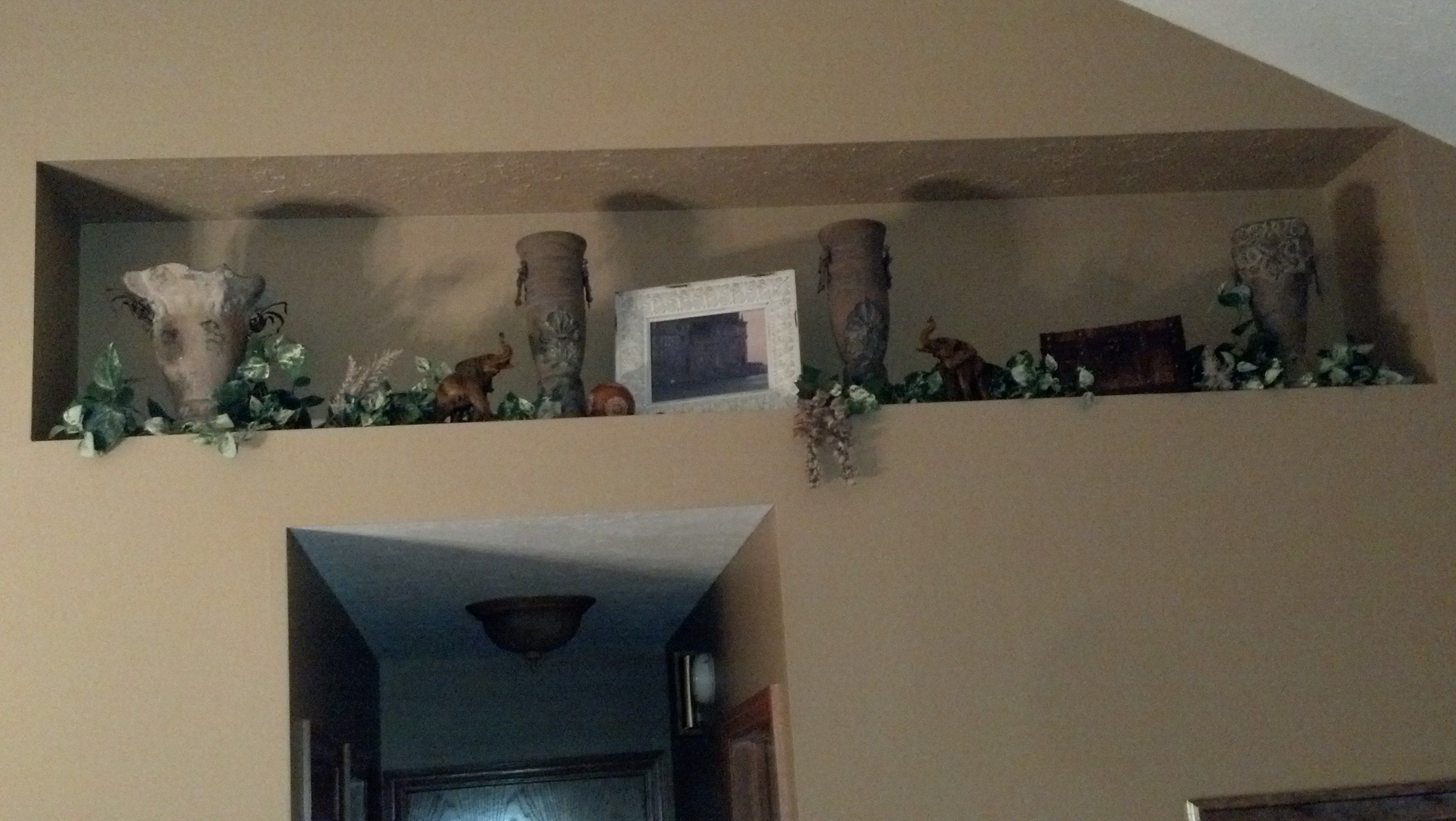 Tuscan Inspired Plant Ledge Decor Living Room Home Pinterest Rooms And Plants