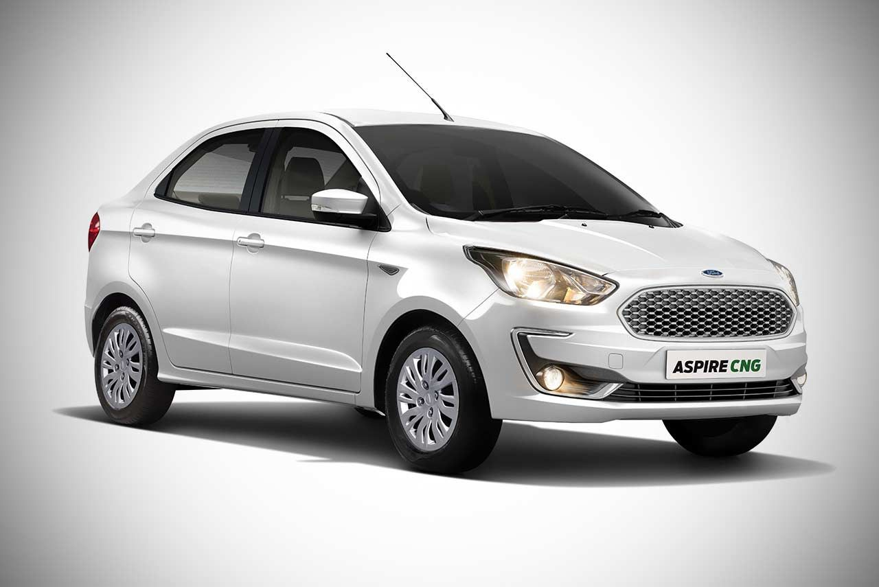 Ford Has Commenced The Sale Of Cng Variant Of New Ford Aspire In India The Compact Sedan Is Available In Ambiente And Trend Plus T Ford Ecosport Diesel Cars Upcoming Cars
