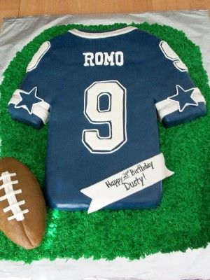 Football Jersey Cake Sports Groom And Occupational