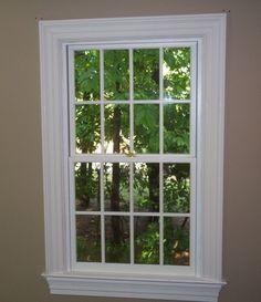 Traditional Stool Amp Apron Window Casing Carpentry Ideas Interior Window Trim Interior Windows Window Trim