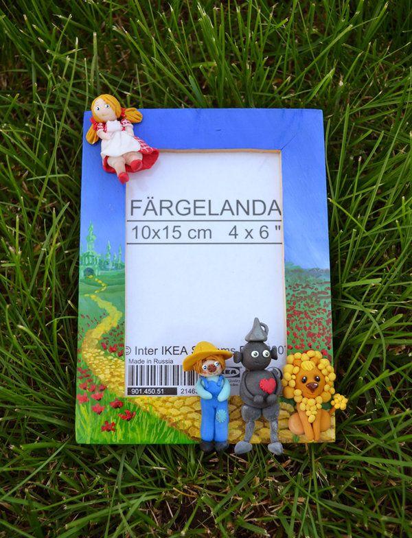 Wizard Of Oz Photo Frame By Doodleduodeviantartcom On At Deviantart