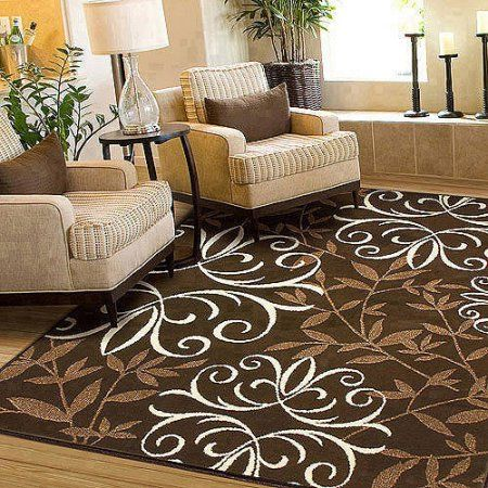 Better homes gardens iron fleur area rug or runner in - Better homes and gardens iron fleur area rug ...