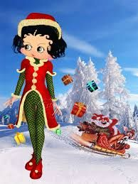 Betty Boop....maybe a few bumps in the road. But be at peace it's Christmas!