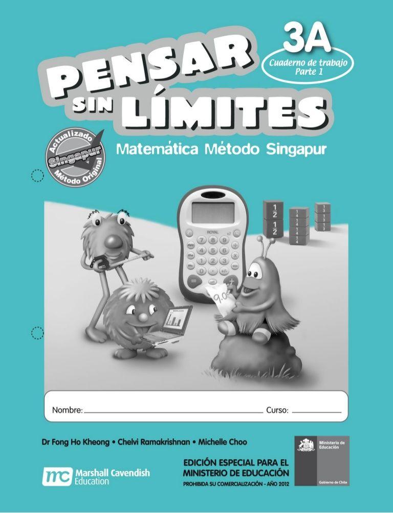 matemática método Singapur descargar cartilla pdf   Singapore Math ...