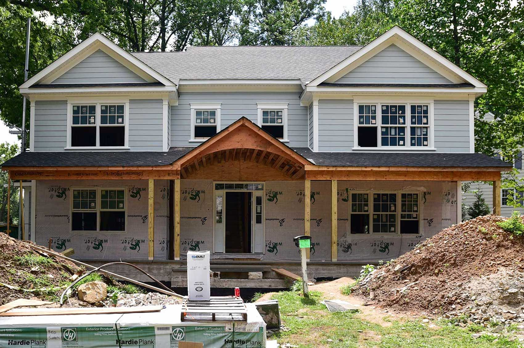 Home additions nj ground floor additions second story for How to build a 2nd story floor
