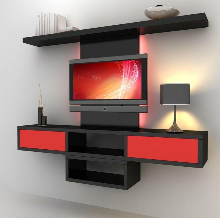 Rangement salon moderne – 35 idées top de relooking | USA ...