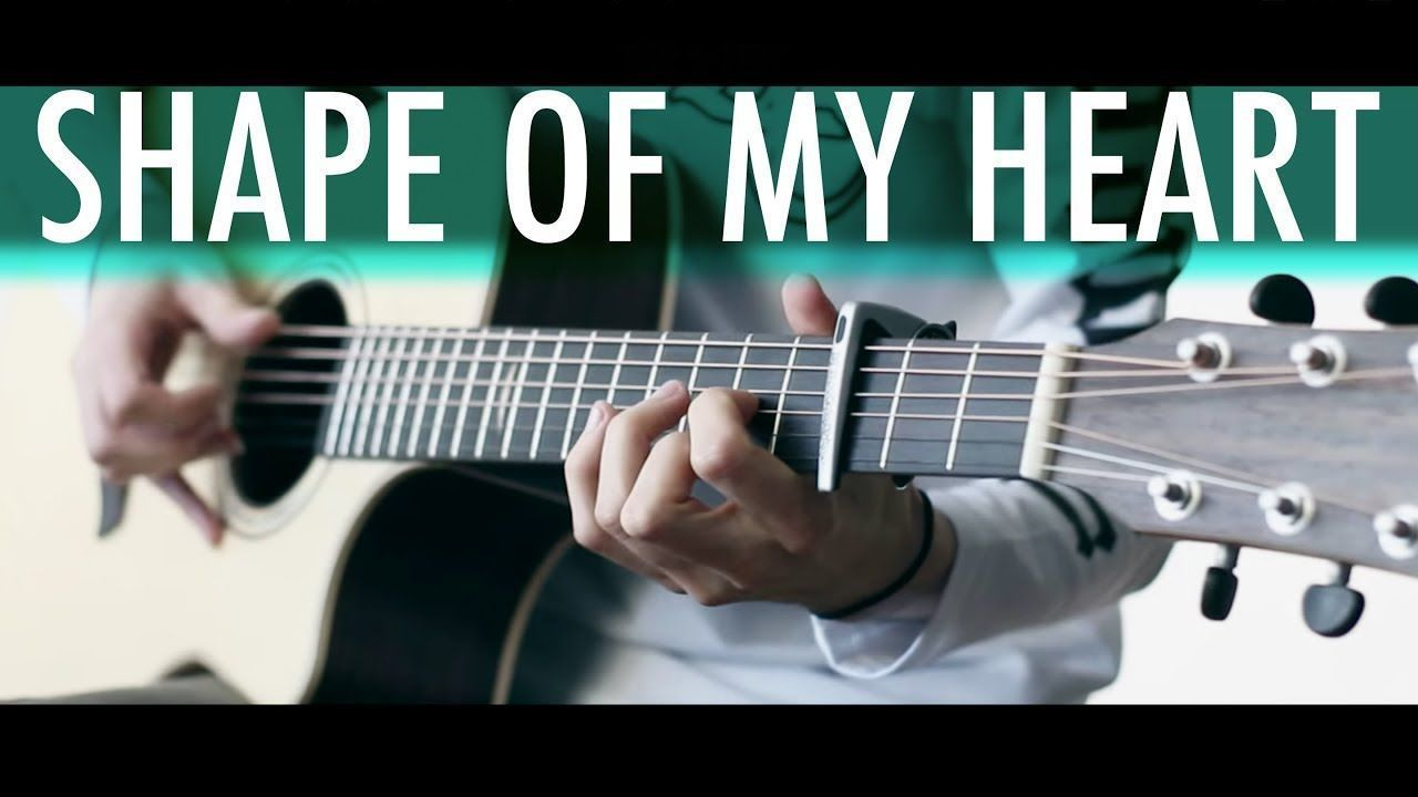 SHAPE OF MY HEART (Sting) Lucid Dreams⎪Acoustic guitar