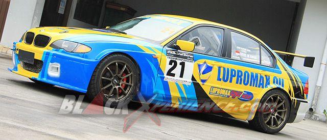 Lupromax Terus Berupaya Untuk Ikut Serta Secara Aktif Dalam Memeriahkan Kancah Kejuaraan Balap Nasional Sejalan Dengan Salah Satu Visin Bmw E46 Mobil Balap Bmw