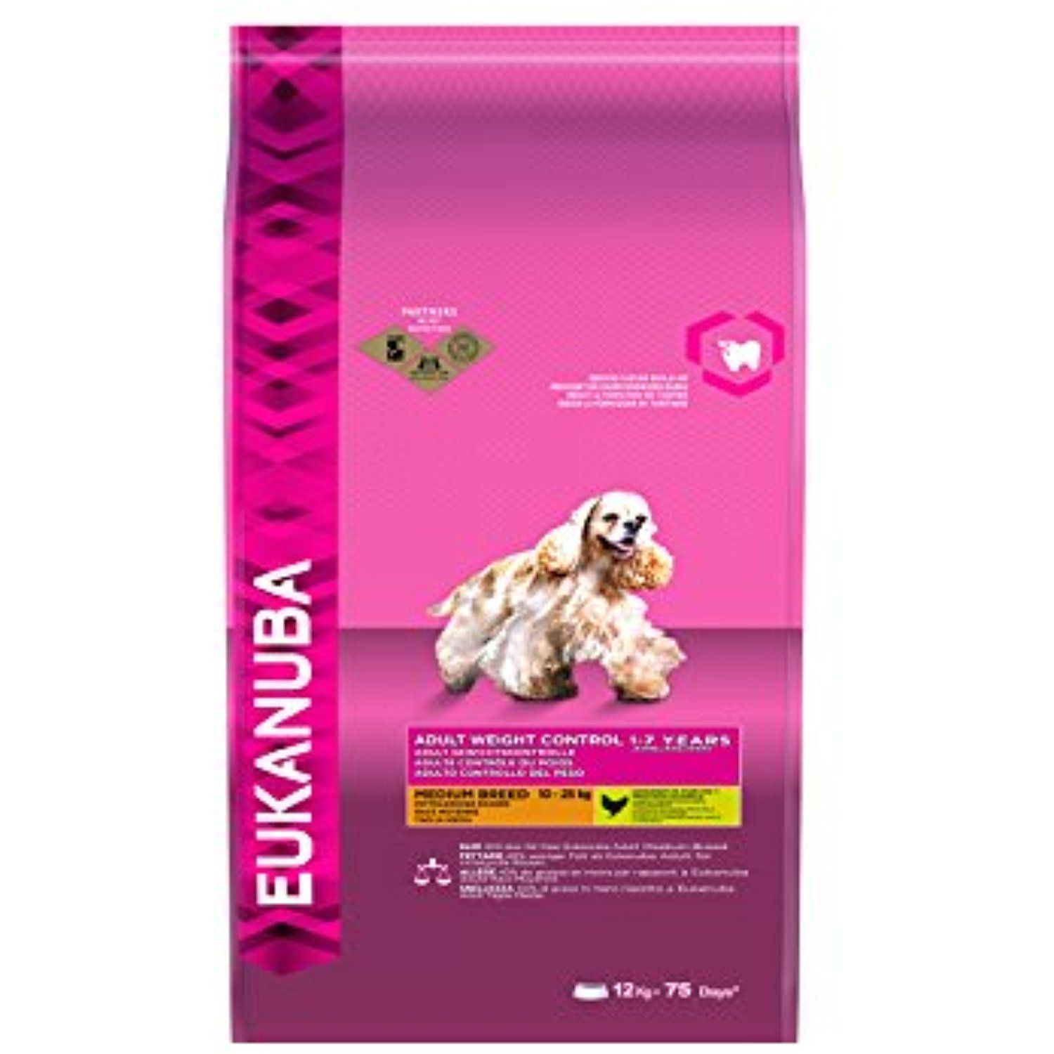 Eukanuba Dog Adult Weight Ctr Med Breed 12 Kg You Can Find Out