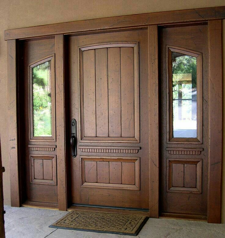 Pin de amjad malik en doors pinterest puertas for Puertas principales madera