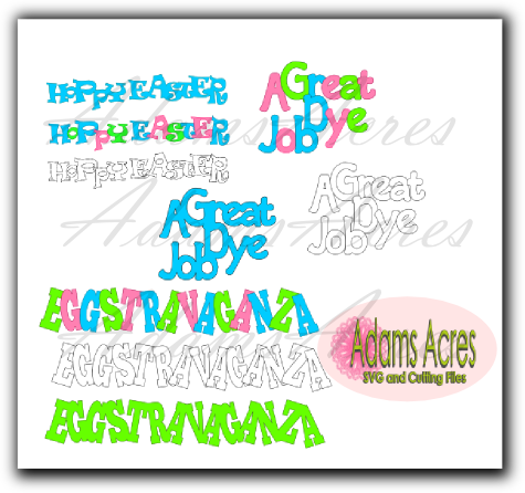 Easter Quotes in SVG, Printables and Digi Stamps free until midnight April 1st 2012