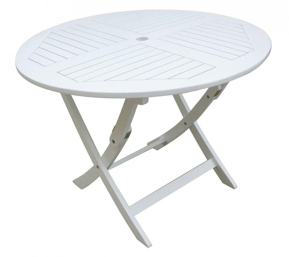 Garden Pleasure Tisch Toledo Akazie Rund Gartentisch Tisch