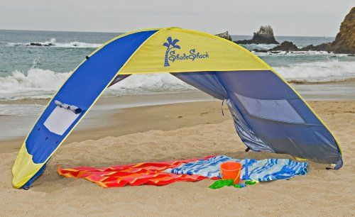 Shade Shack Instant Pop Up Family Beach Tent & Shade Shack Instant Pop Up Family Beach Tent | Family Fun ...
