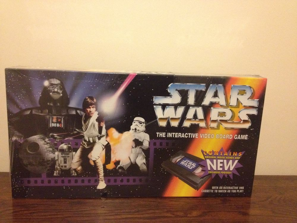 Vintage Star Wars The Video Interactive Board Game ...