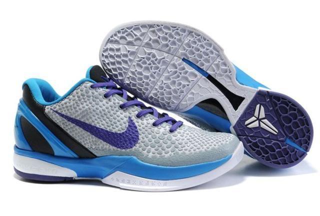 Nike Zoom Kobe 6 Draft Day White Purple Photo Blue Black