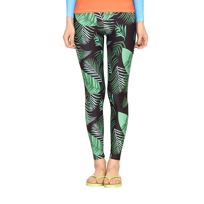 42accb9839 Womens Rash Guard Jammers Wetsuit Wakeboard Surfing Yoga Fitness Printed  Pants UPF50+ UV Protection Tight Pants Bodybuilding