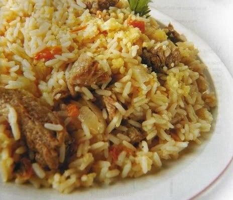 Guiso De Arroz Recetas Com Py Comida Arroz Con Carne Comida Vegetariana