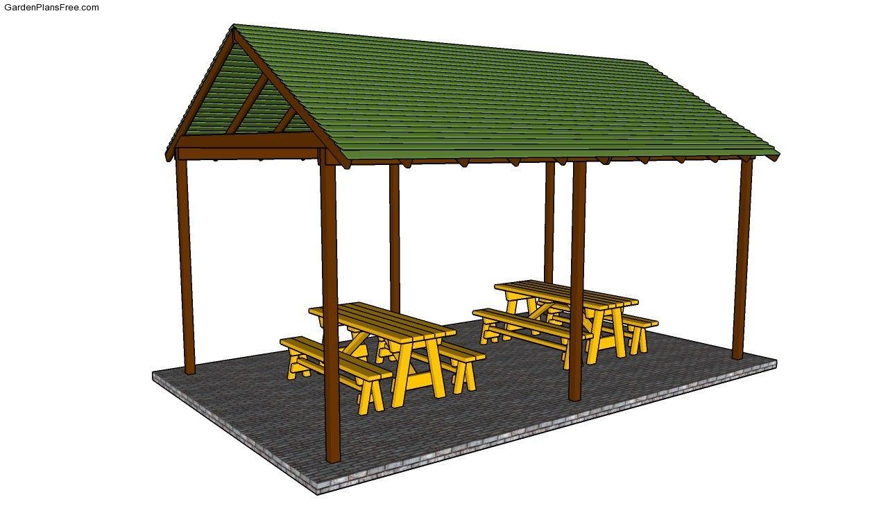 Outdoor Pavilion Plans Free Garden Plans How To Build Garden Projects Pavilion Plans Outdoor Pavilion Gazebo