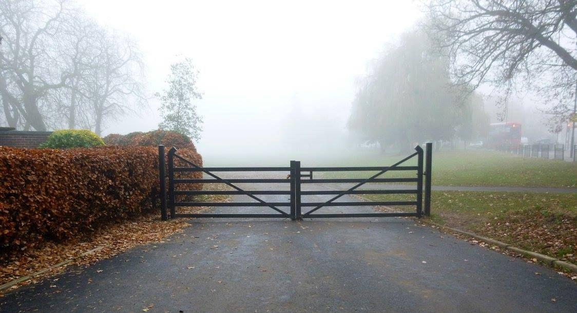 Foggy Barham Park - Wembley/Sudbury