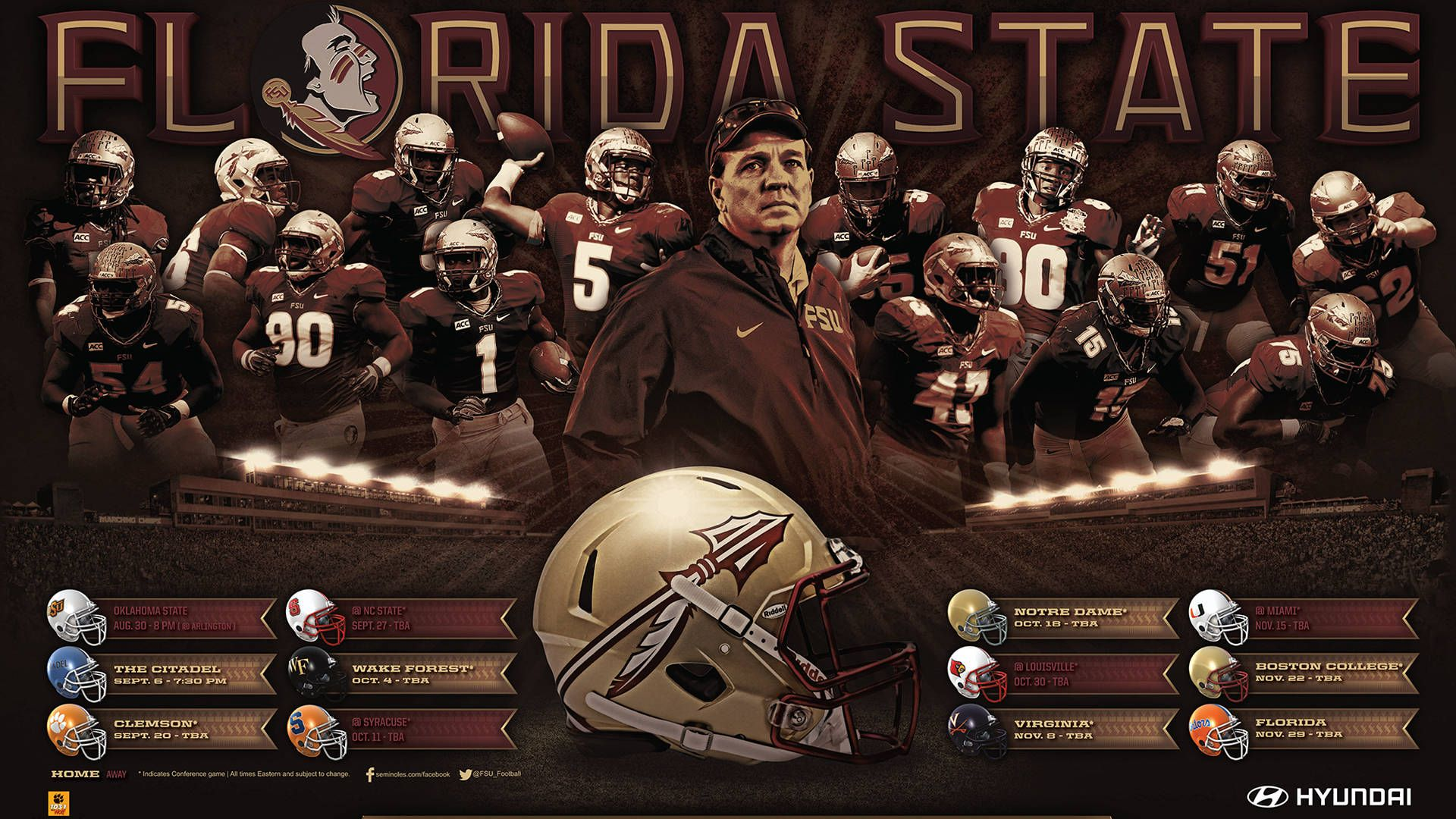 Pin By Tim Russ On Seminole Florida State Football Football Wallpaper Fsu Football
