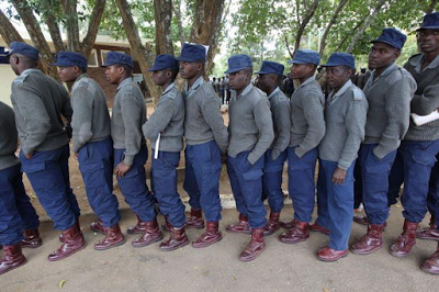 Foreign News 17 Police Officers arrested in Zimbabwe in