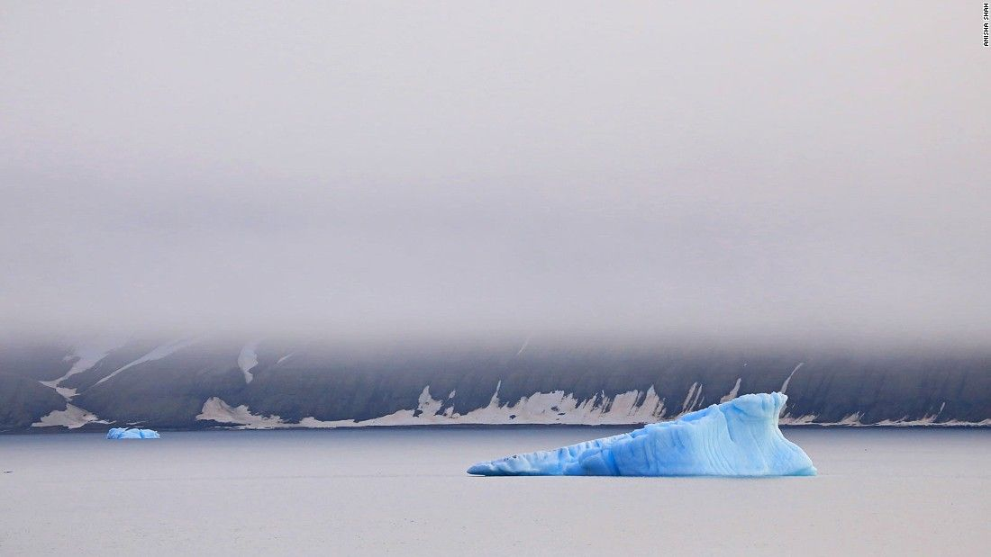 The beautiful icy desert around the North Pole is home to polar bears, walrus and whales. But it's vanishing fast.