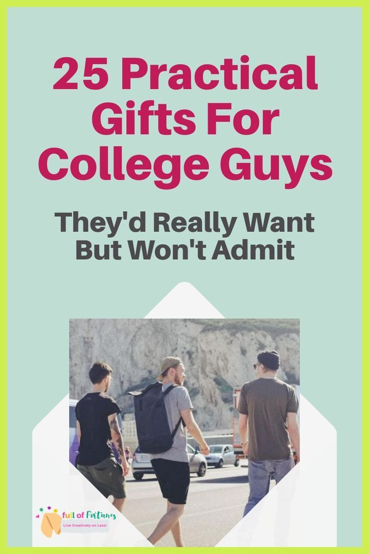 25 practical gifts that will make college boys go crazy