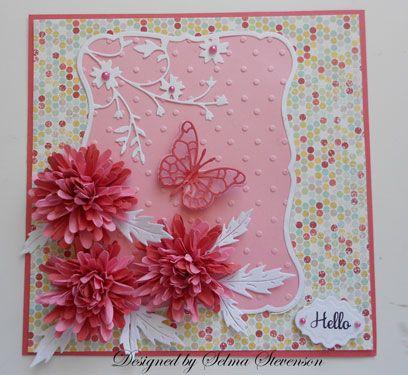 Selmas stamping corner daisy die tutorial cards butterflies selmas stamping corner and floral designs mum tutorial mightylinksfo