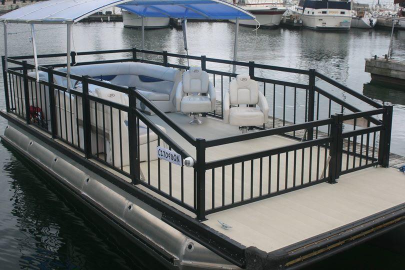 Replacement Pontoon Boat Railings : Pontoon boat … pinteres…