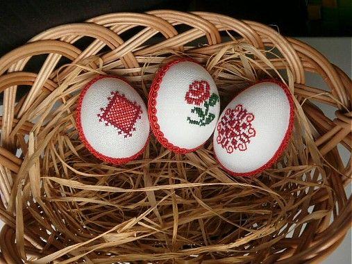 Kraslice vyšívané / emiska - SAShE.sk - Handmade Dekorácie