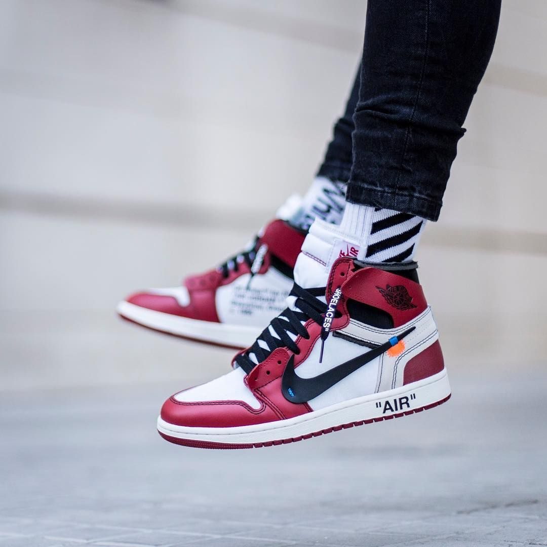 ef2385d0085875 Off White c o Virgil Abloh x Air Jordan 1 High