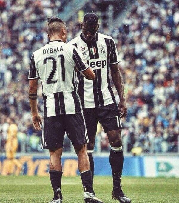 Juventus Dybala And Pogba