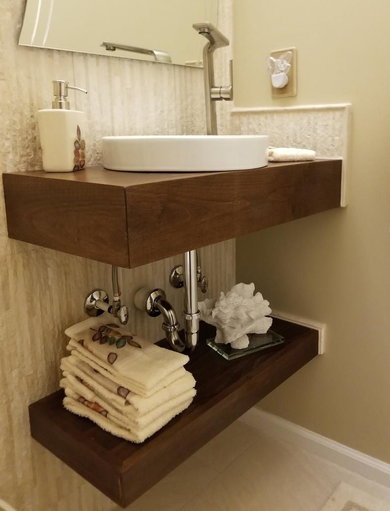 Raw Floating Bath Vanity No Finish In 2020 Floating Bathroom Vanities Bath Vanities Timeless Bathroom