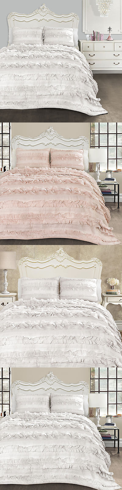 Lush Decor Belle Bedding Quilts Bedspreads And Coverlets 175749 Lush Decor Belle 3Piece