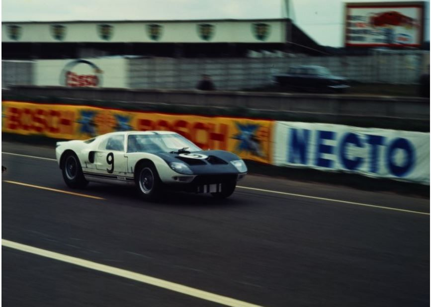 Gt 101 1st Mk I Wrecked At Le Mans Time Trials April 1964 Ford